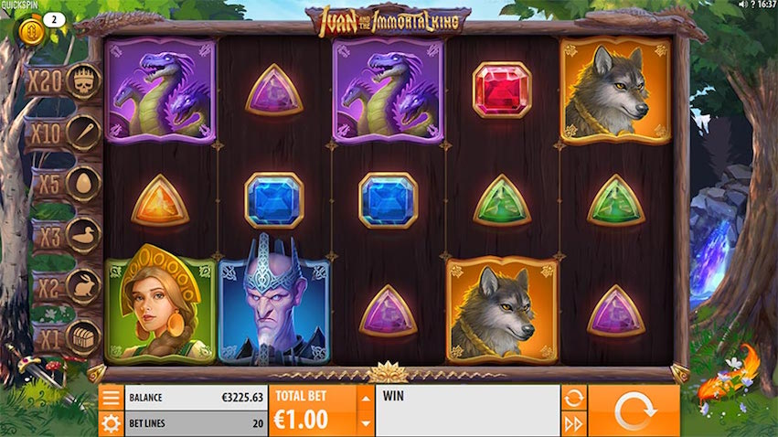 Ivan and the Immortal King Slot Review