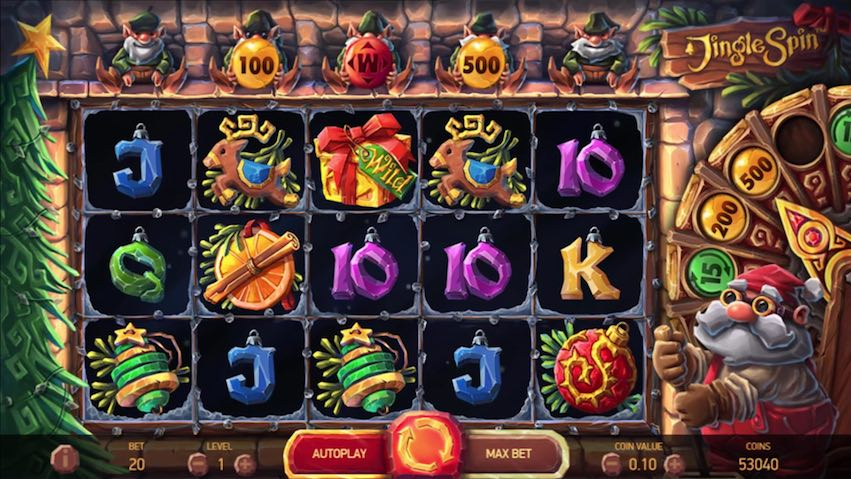 Jingle Spins Slot Review
