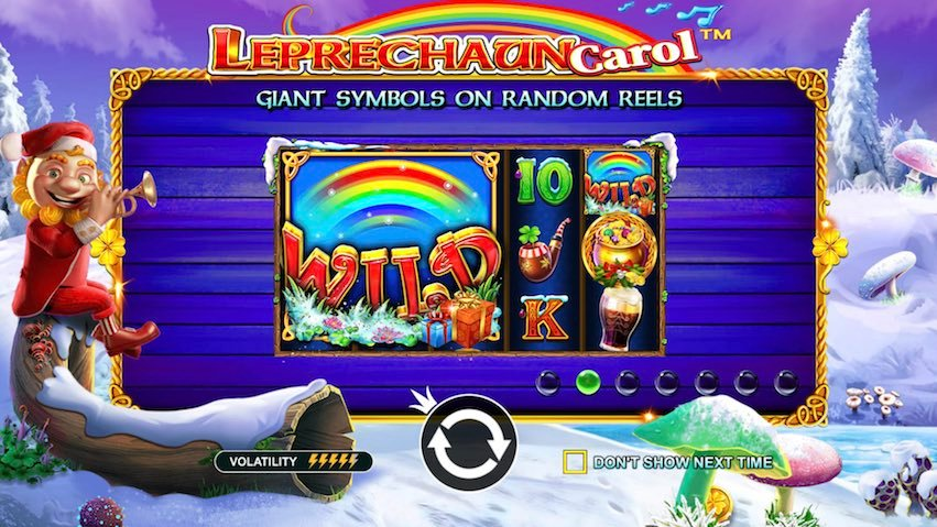 Leprechaun Carol Slot Review
