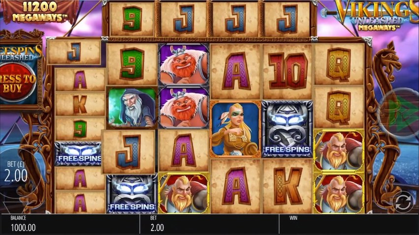 Vikings Unleashed Megaways ™ Slot Review