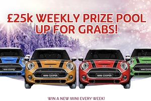Win a Mini Cooper With Play OJO