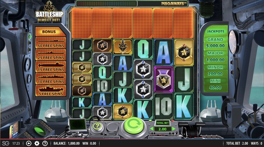 Battleship Direct Hit! Slot Review