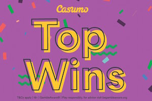 Casumo Publish Lists of Top Slot Wins From December 2018