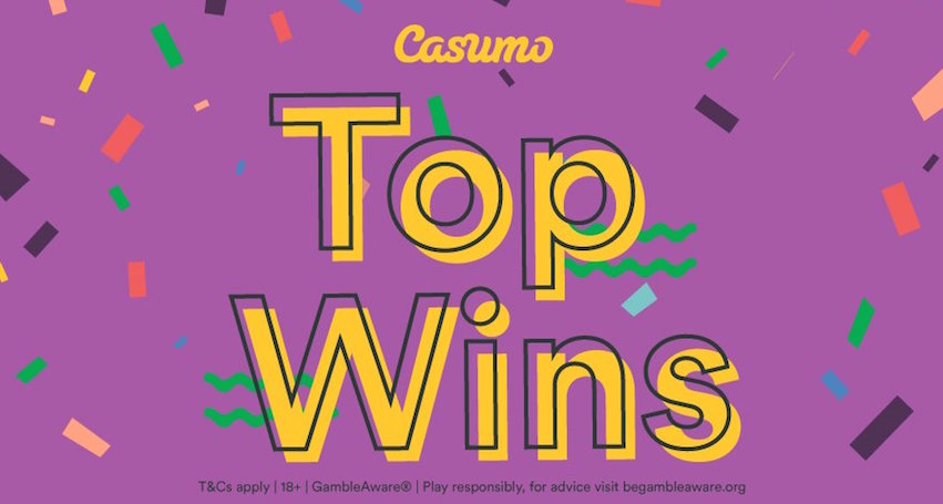 Casumo Have Published The Top Wins at Their Casino For December 2018