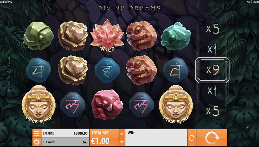 Divine Dreams Slot Review