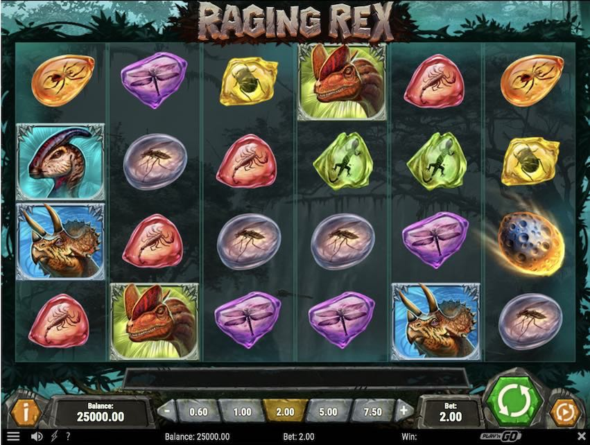 Raging Rex Slot Review
