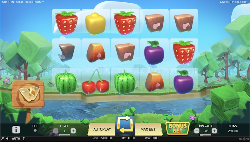Strolling Staxx: Cubic Fruits Slot Review