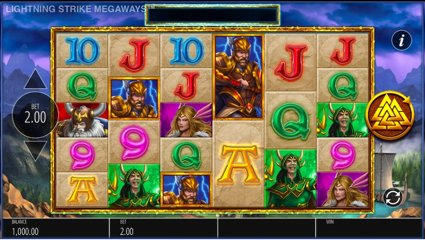 Lightning Strike Megaways™ Slot Review