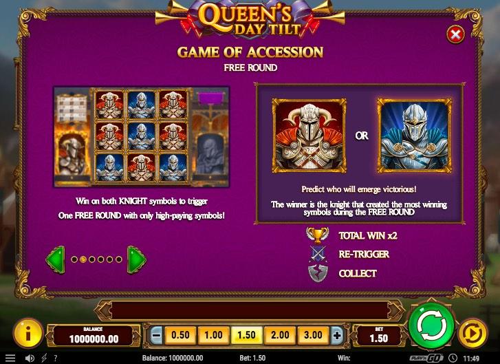 Queen's Day Full Tilt Features