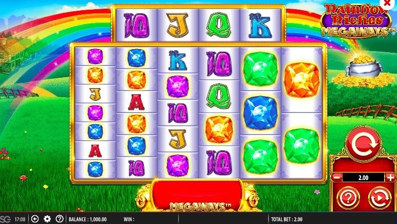 Rainbow Riches Megaways™ Slot Review