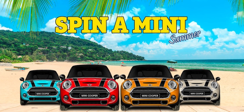 Play OJO's Annual Spin a Mini Competition Starts in August