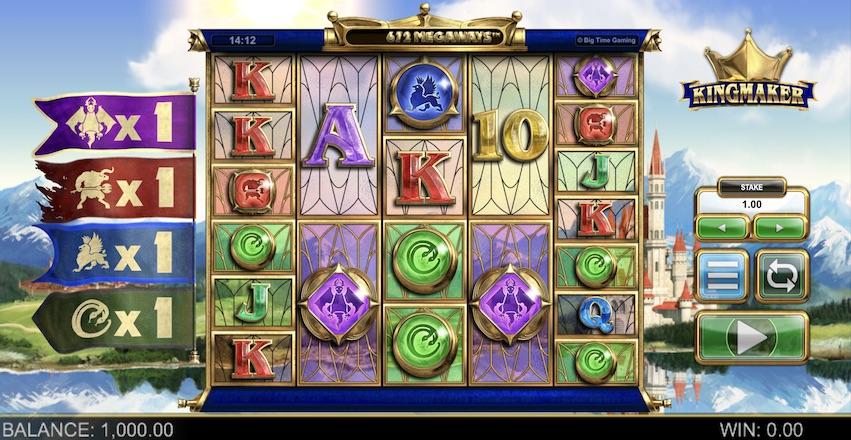 Kingmaker Megaways™ Slot Review