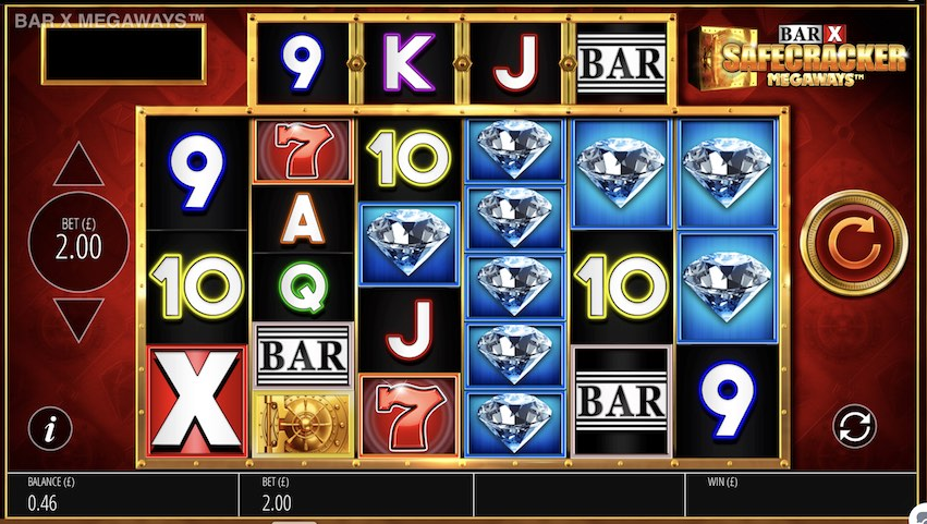 Bar-X Safecracker Megaways™ Slot Review