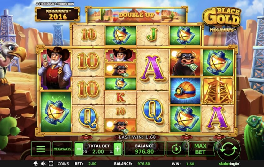 Black Gold Megaways™ Slot Review