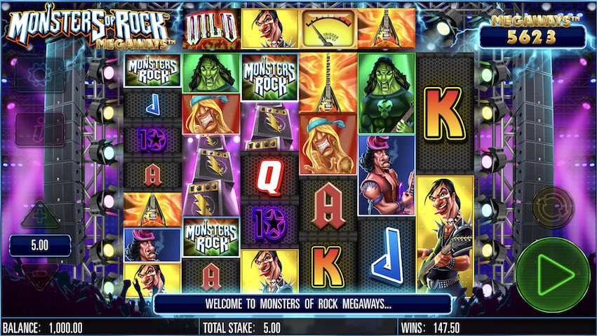 Monsters of Rock Megaways™ Slot Review