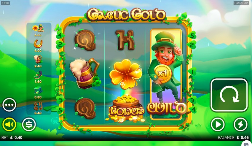 Gaelic Gold Slot Review