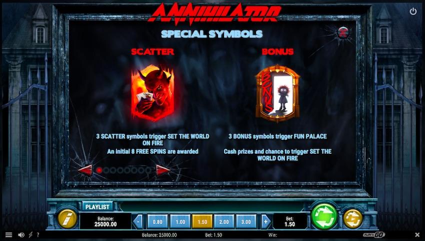 Annihilator Slot Feature