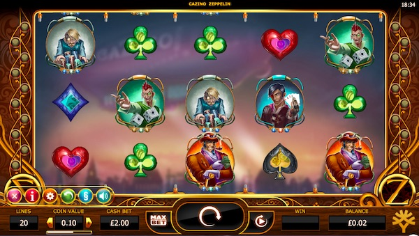 Casino Zepplin Slot