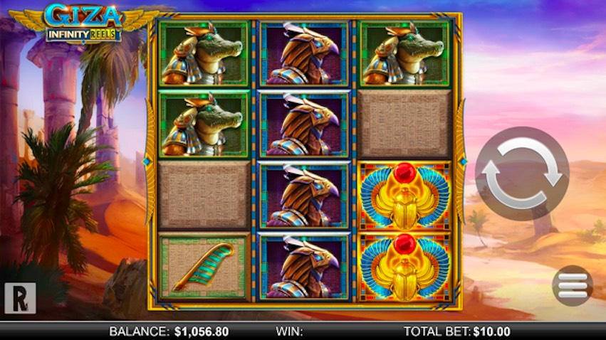 Giza: Infinity Reels Slot Review