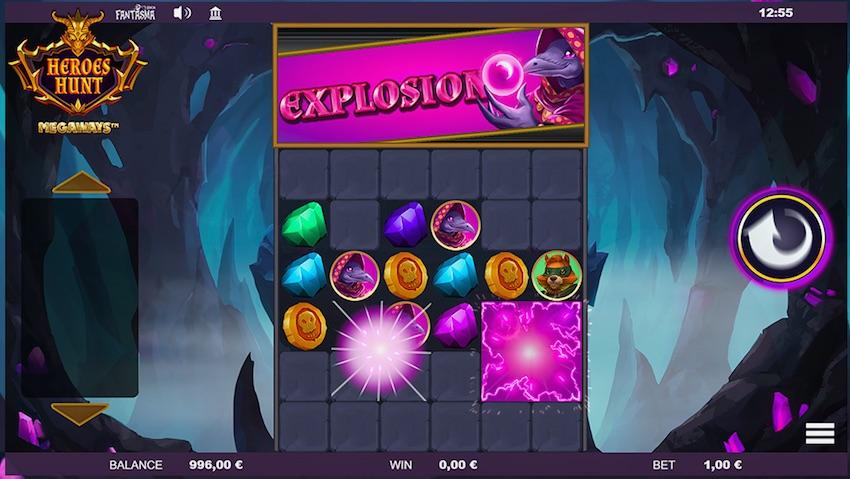 Heroes Hunt Slot Win