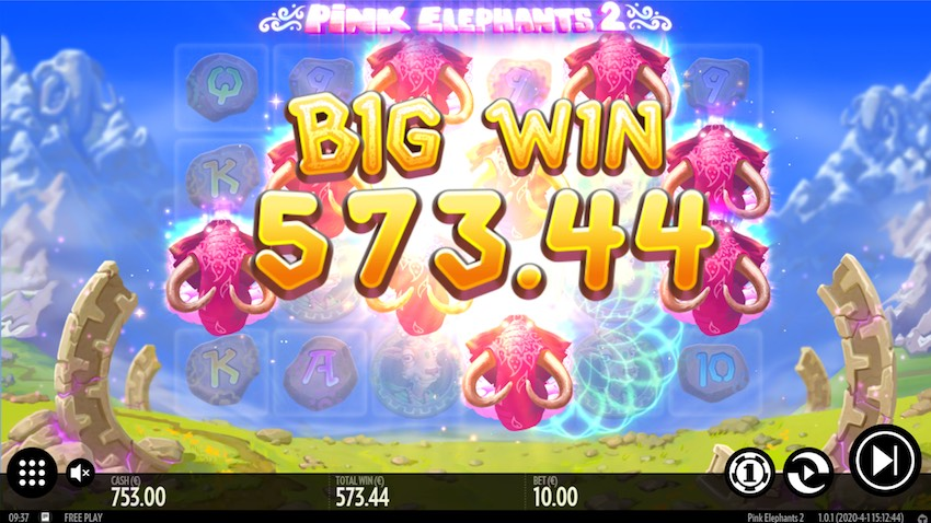 Pink Elephants 2 Slot Win