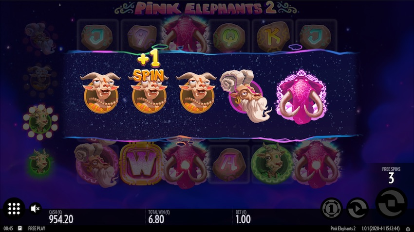 Pink Elephants Slot Upgrade