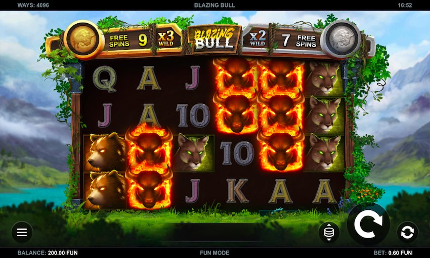 Blazing Bull Slot Review