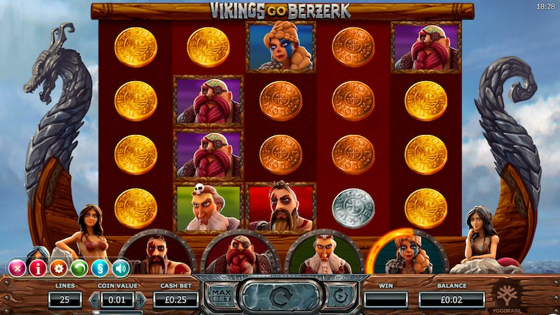 Vikings Go Berserk Slot