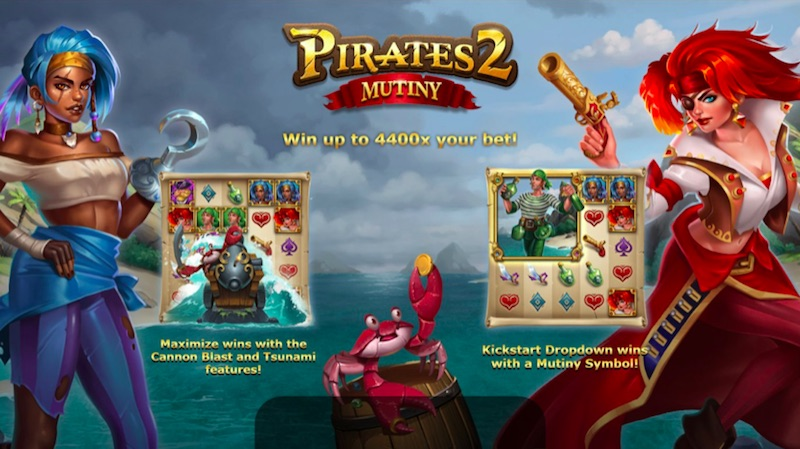 Pirates 2: Mutiny Slot Review