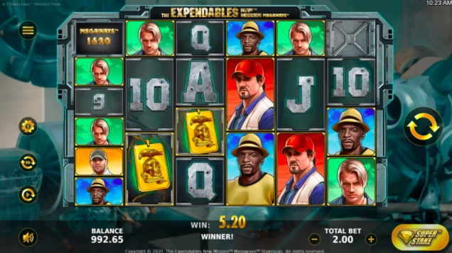 The Expendables New Mission Megaways™ Slot Review