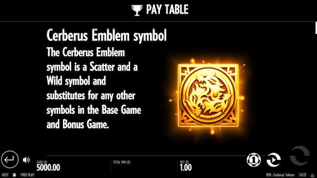 Cerberus' Inferno Slot