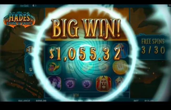 Hades - River of Souls Slot Big Win