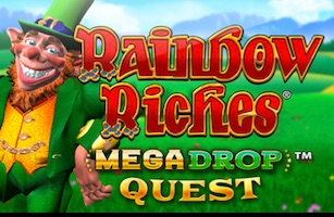 Rainbow Riches Mega Drop Jackpots
