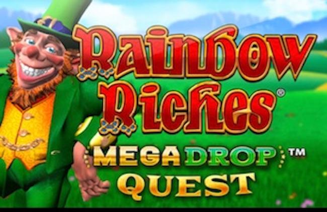 Rainbow Riches Mega Drop Jackpots Slot Review