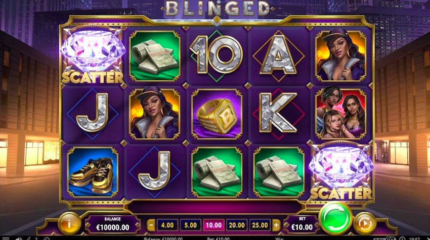 Blinged Slot Review