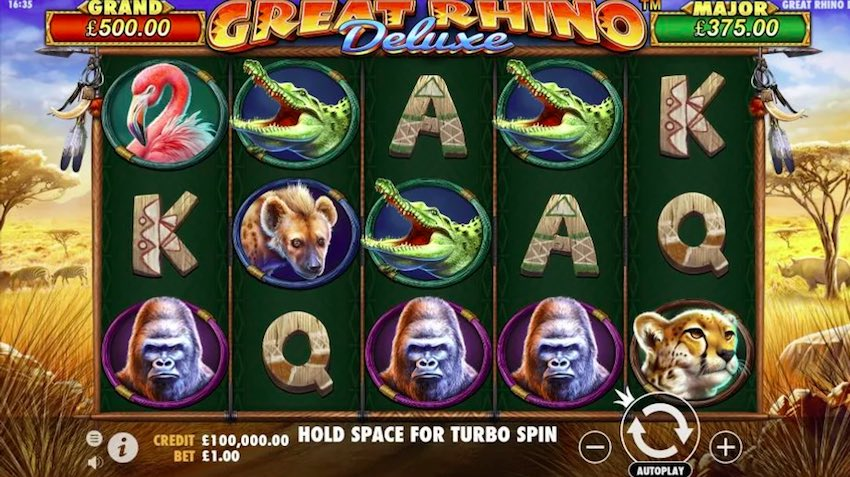 Great Rhino Deluxe Slot Review