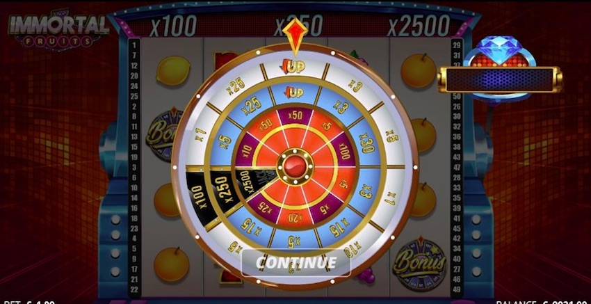 Immortal Fruits Slot Review