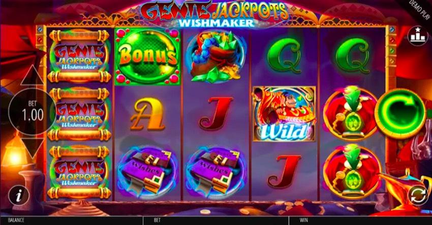 Genie Jackpots Wishmaker Slot Review