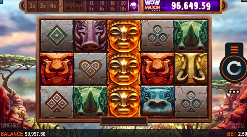 African Legends Slot Review