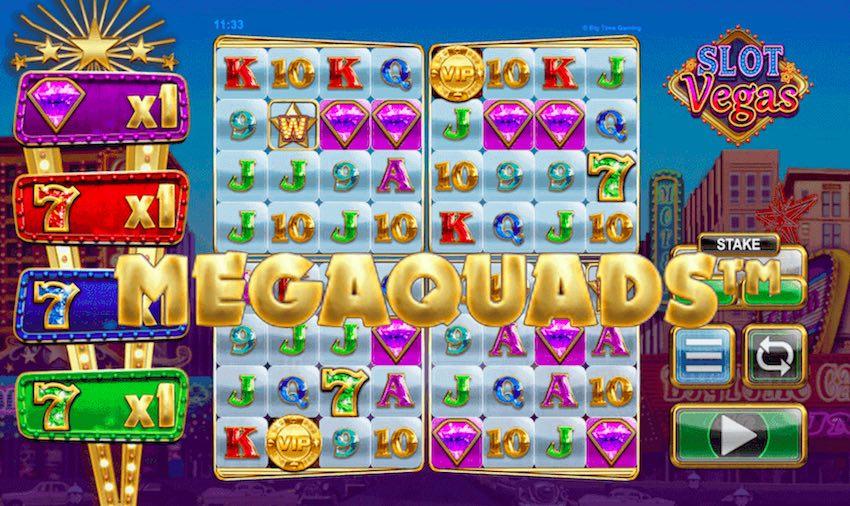 Slot Vegas Megaquads™ Slot Review