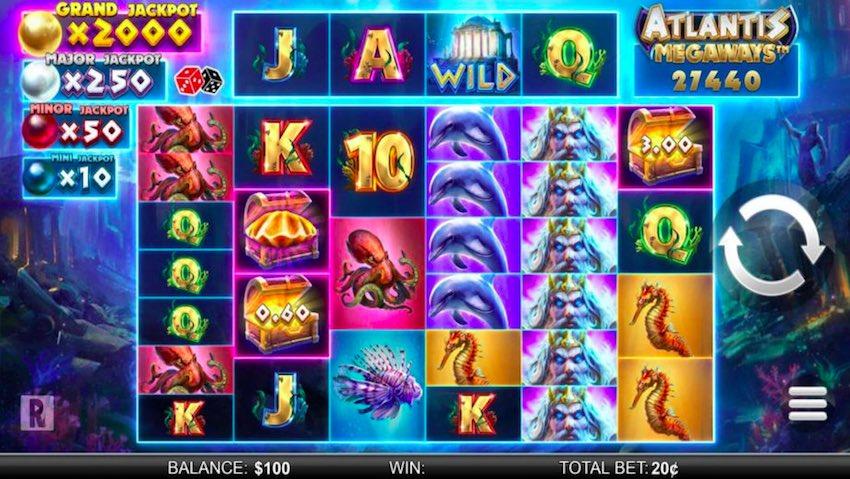 Atlantis Megaways™ Slot Review