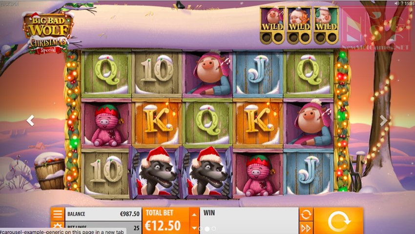 Big Bad Wolf Christmas Special Slot Review