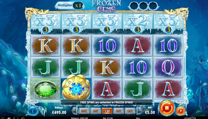 Frozen Gems Slot Review