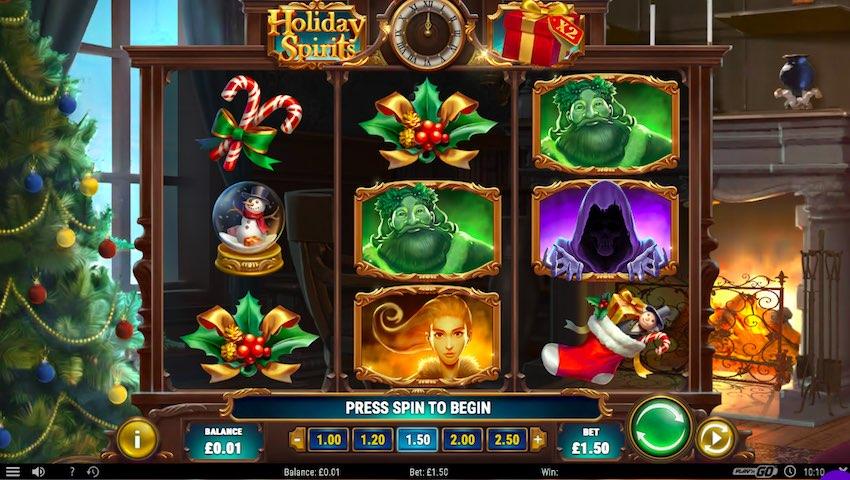 Holiday Spirits Slot Review