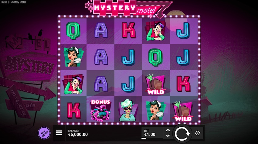 Mystery Motel Slot Review