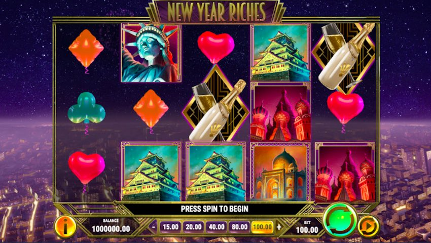 New Years Riches Slot Review