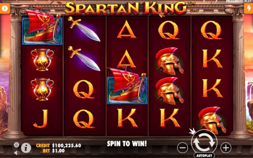 Spartan King Slot Review
