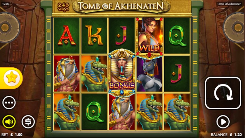Tomb of Akhenaten Slot Review