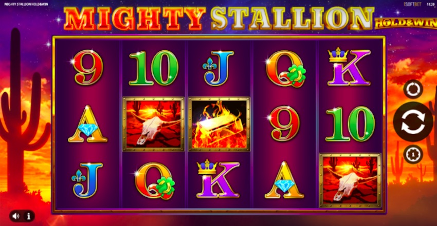 Mighty Stallion Slot Review