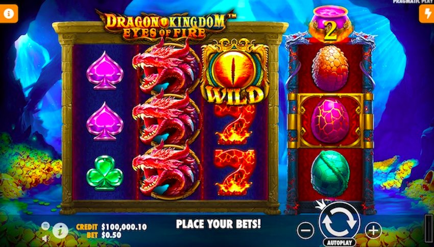 Dragon Kingdom Eyes of Fire Slot Review